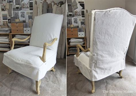 canvas slipcover for chair the slipcover