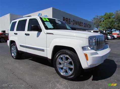 jeep liberty white 2017 2008 stone white jeep liberty limited 55283575 photo 14