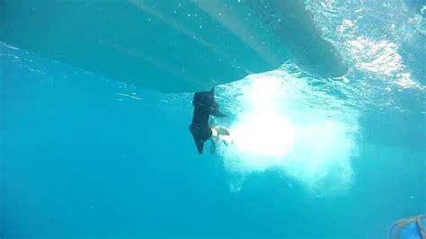 Boat Propeller Underwater by Propeller Underwater Dinghy