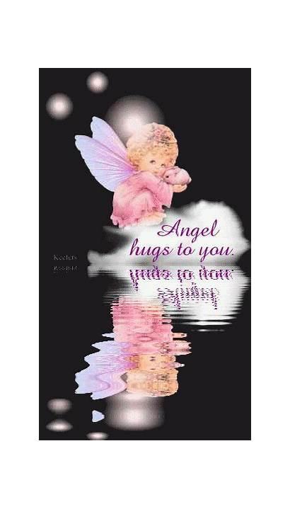 Hugs Angel Angels Animated Heal Among Hugging