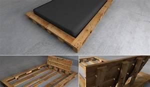 Palettenbett Selber Bauen : ber ideen zu palettenbett selber bauen auf pinterest palettenbett palettenbetten und ~ Markanthonyermac.com Haus und Dekorationen