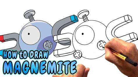 draw magnemite  pokemon   rare