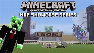 Minecraft PS3 Notchland Adventure Park Map Download