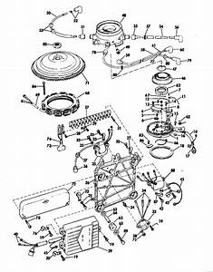 Evinrude Distributor Group Parts For 1969 115hp 115983e Outboard Motor