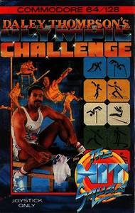 Daley Thompson's Olympic Challenge for Commodore 64 (1988 ...