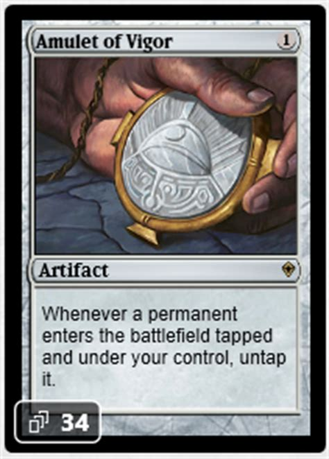 Amulet Of Vigor Deck by High Stakes Bankroll Management On Mtgo Jan 17th To Jan