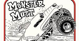 Monster Jam Logo Coloring Pages. Monster. Best Free ...