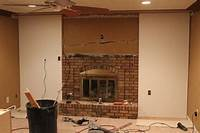 brick fireplace remodel 12 Brick Fireplace Makeover-Ideas To Update Your Old Fireplace – Home And Gardening Ideas