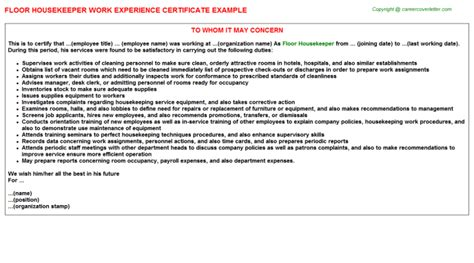 sle cover letter housekeeping resume 28 images cover