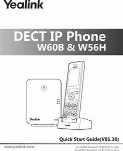 Yealink W60b Dect Ip Base Station User Manual Yealink W60b