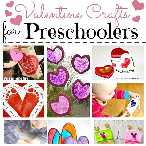 crafts for preschoolers ted 465 | Valentine Crafts for Preschool