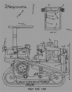 8g3915 Battery  U0026 Wiring Group - Track-type Skidder Caterpillar D4htsk Ii