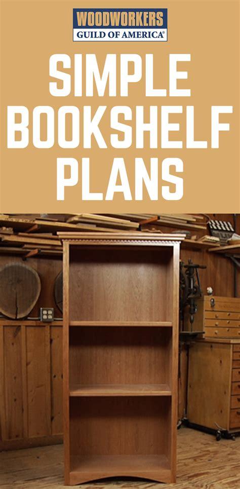 simple bookcase plans bookcase plans simple bookcase