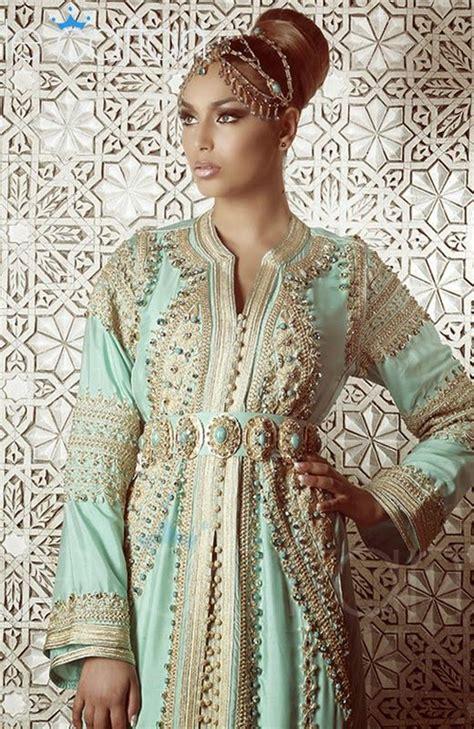 caftan moderne -maghreb | Moroccan dress, Moroccan fashion ...
