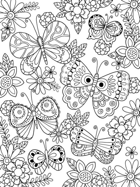 Butterfly Coloring Pages for Adults Best Coloring Pages