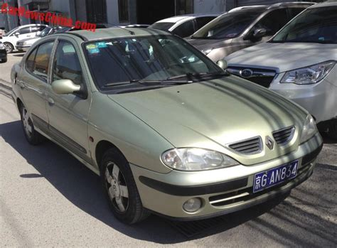renault china spotted in china first generation renault megane classic