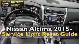 Nissan Altima Service Light Reset Guide