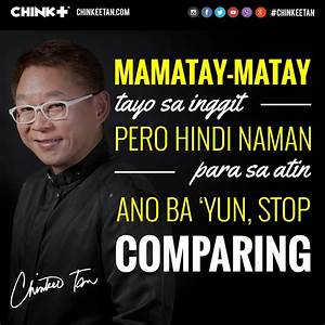 HUWAG IKUMPARA ANG SARILI SA IBA | Chinkee Tan - Filipino ...