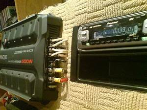 Wiring A Car Audio Amplifier And Headunit Up Indoors Using