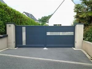 Portail De Maison : all e d 39 une maison bretonne traditionnelle ferm e par l ~ Premium-room.com Idées de Décoration