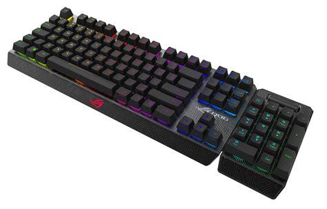 asus cerberus gaming keyboard ces 2016 asus rog showcases gaming innovations republic