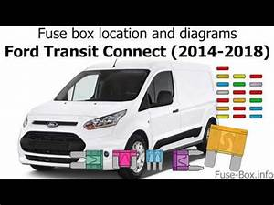 Fuse Box Location And Diagrams  Ford Transit Connect  2014
