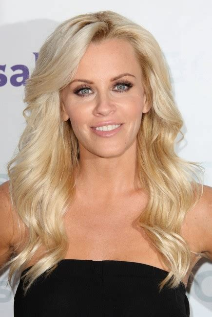 jenny mccarthy long wavy blonde hairstyle  bangs