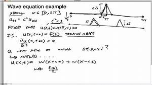42-Wave equation example - YouTube