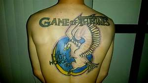 Love this Game of Thrones back tattoo | Game Of Throne ...