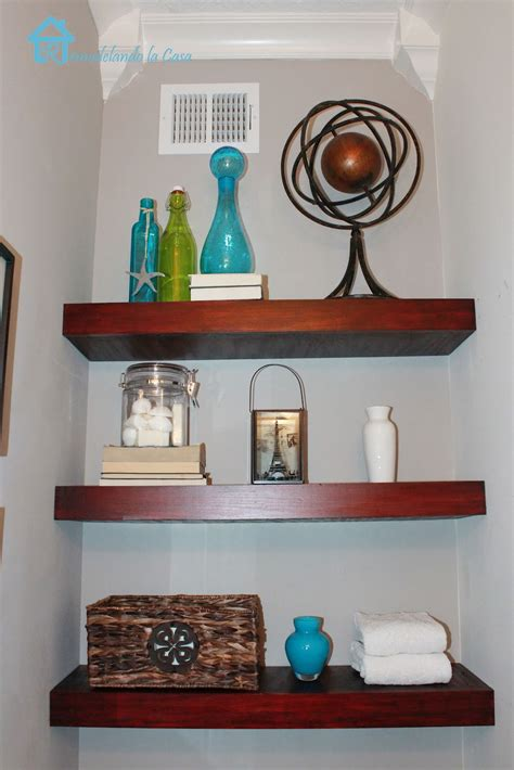 Diy Floating Shelves Remodelando La Casa