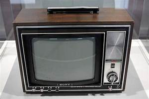 The First Sony Color Tv  Oldschool  Vintage