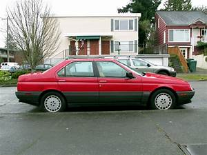 Seattle U0026 39 S Classics  1991 Alfa Romeo 164l Sedan