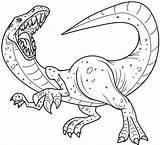 Coloring Dinosaur Dinosaurs Printable Printables sketch template