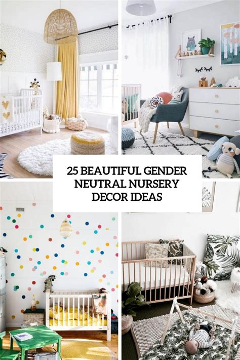beautiful gender neutral nursery decor ideas shelterness