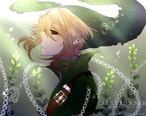 Ben Drowned Anime Wallpaper - ben drowned underwater light by avien03 on deviantart