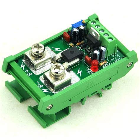 Din Rail Mount Amp Current Sensor Module Based
