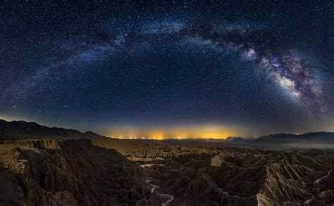 Milky Way Over California Canyons Photo One Big