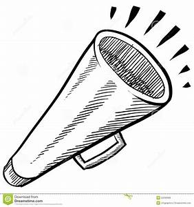 Megaphone Or Announcement Illustration Royalty Free Stock ...