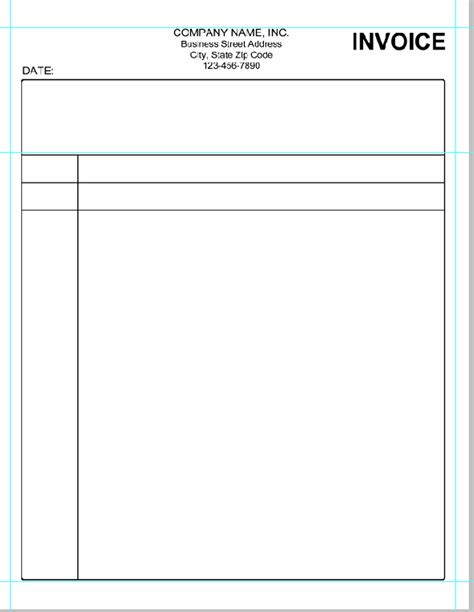 simple invoice template  invoice