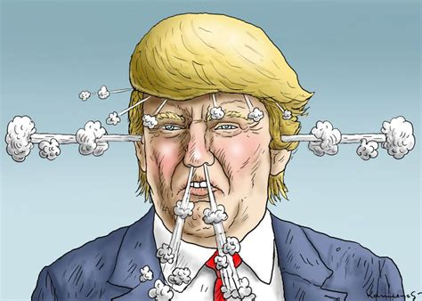 cartoon movement donald trump