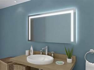 Spiegel Mit Uhr : badspiegel mit led beleuchtung nach ma ~ Orissabook.com Haus und Dekorationen