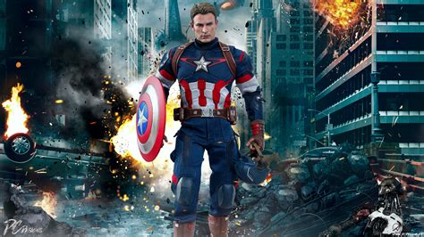 chris evans captain america wallpaper gallery