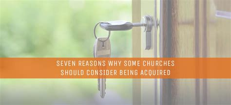 Seven Reasons Why Some Churches Should Consider Being