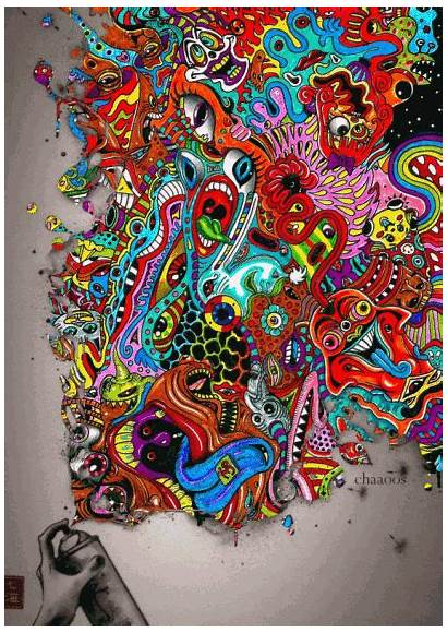Trippy Stuff Cool Psychedelic Dope Crazy Gifs