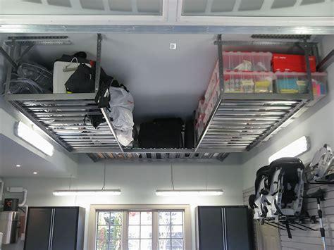 overhead garage storage systems garage overhead storage