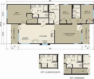 modular home floor plans for narrow lots : Modern Modular Home