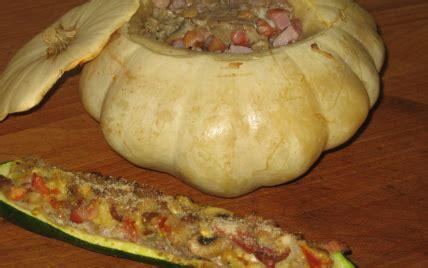 cuisiner le patisson blanc recette pâtisson et courgettes farcis à la viande 750g