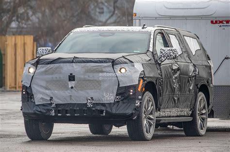 2020 Cadillac Escalade Vsport by 2020 Cadillac Escalade Spied With Makeshift Dodge Ram