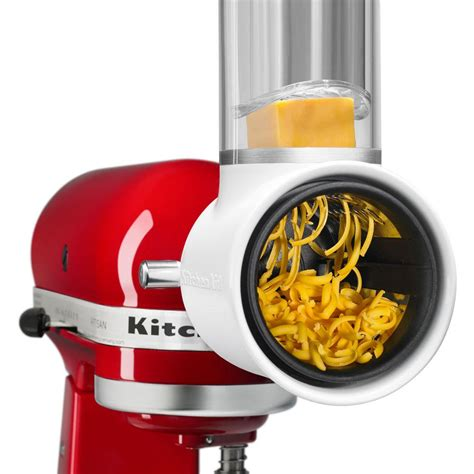Kitchenaid Mixer Attachment Pack by Kitchenaid Mixer Rotor Slicer Shredder Attachment Pack For