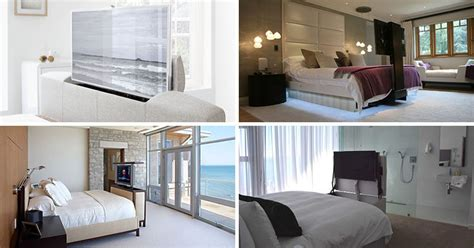 Tv In Bedroom Design Ideas by 7 Ideas For Hiding A Tv In A Bedroom Contemporist
